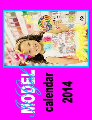 It girl Model Magazine Calendar 2014