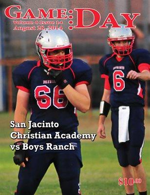 Volume 4 Issue 14 - SJCA vs Boys Ranch
