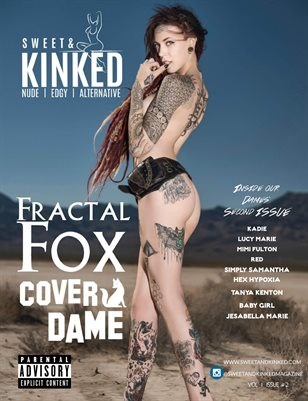Sweet and Kinked Ft. Cover Dame Fractal Fox Issue #2
