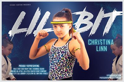 Christina Linn Blue Ice Poster