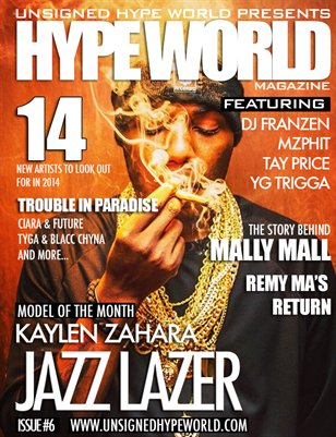 HYPE WORLD MAGAZINE ISSUE #6