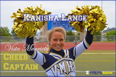 Vista Murrieta Cheer Captain