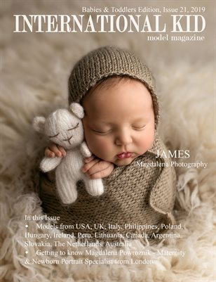 "International Kid Model Magazine Issue #21 ""Babies & Toddlers Edition"""
