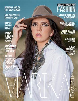 MARIKA MAGAZINE FINE-ART (ISSUE 511 - January)