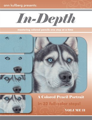 Colored Pencil Husky Portrait in 32-Steps!