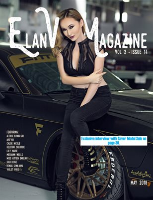 Elan Vital Magazine May 2018 Sulu Cover