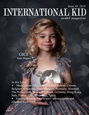 International Kid Model Magazine Issue #43
