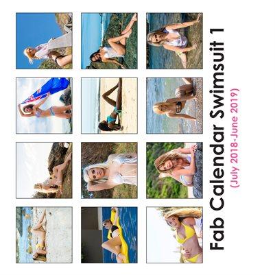 Fab Calendar Swimsuit 1