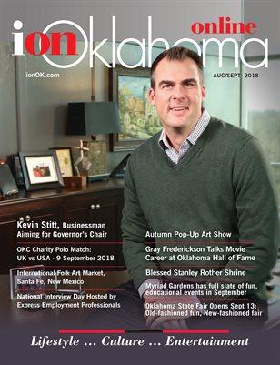ion Oklahoma Magazine August September 2018