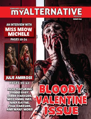 MyAlternative Magazine Issue 19 Bloody Valentine February 2018