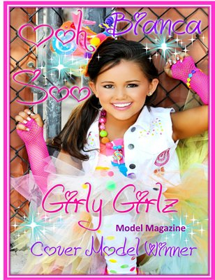 GIRLY GIRLZ MODEL MAGAZINE SUMMER EDITION
