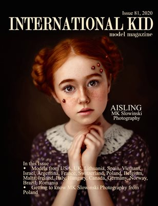 International Kid Model Magazine Issue #81