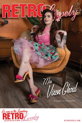 Miss Vixen Ghoul Cover Poster