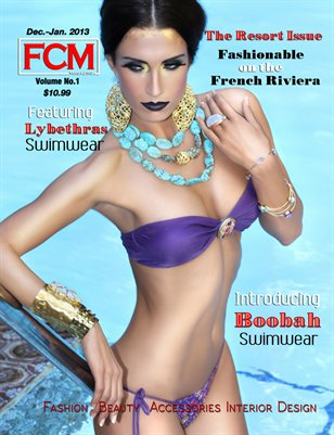 "Fashion Couture Magazine ""Resort Issue"" Vol. 1 Issue#4"