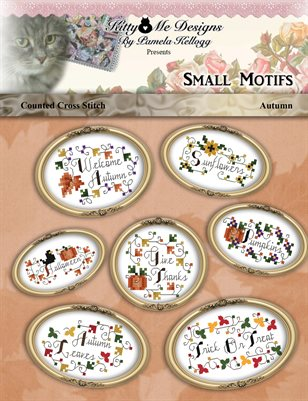 Small Cross Stitch Motifs Autumn