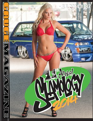 All Slamology- Gauge Magazine July 2014