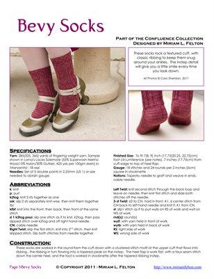 Bevy Socks