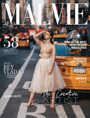 MALVIE Mag The Creative Artist Vol. 17 JULY 2020