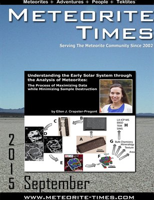 Meteorite Times Magazine - September 2015 Issue
