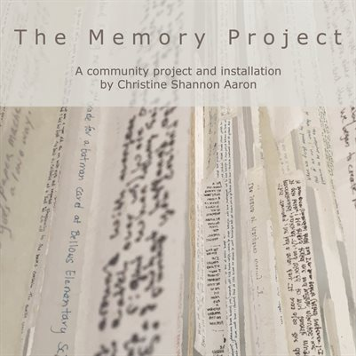 The Memory Project Exhibition Catalogue