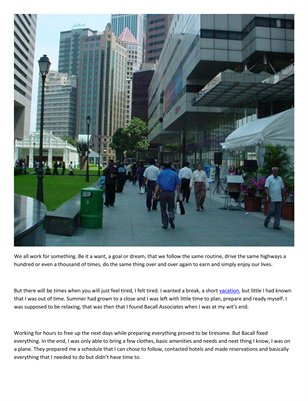 Bacall Associates: To be lost in the city of Singapore