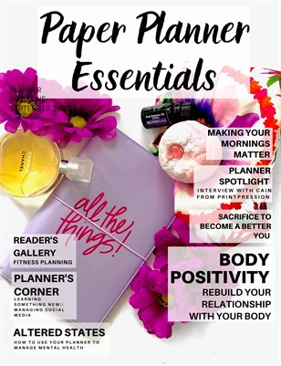 Paper Planner Essentials September 2020