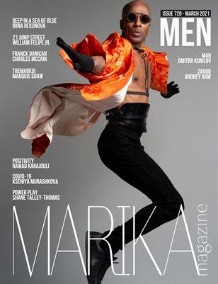 MARIKA MAGAZINE MEN (ISSUE 720 - MARCH)