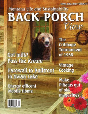Back Porch View, Spring issue 2012