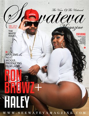 Seewateva Magazine Ron Browz The White Issue 3