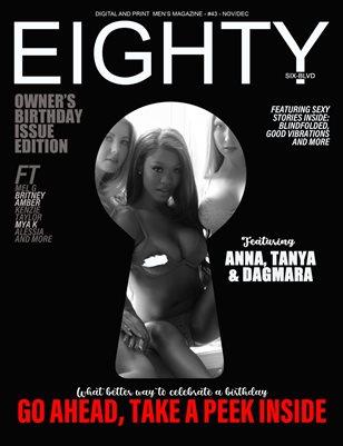 owners birthday issue: Anna, tanya & Dagmara cover