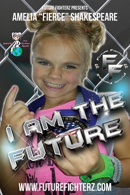 "Amelia ""Fierce"" Shakespeare - I am the future poster"
