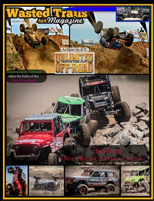 Wasted Trails 4x4 magazine  volume 14