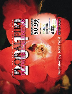 Floral Fire: 2012 Flower Wall Calendar * DA TOP Books
