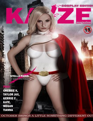 Kayze Magazine cosplay edition (STELLA PARIS) ISSUE 5