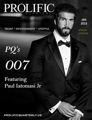 Prolific Quarterly | 007 | SPECIAL EDITION