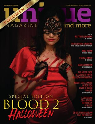 UNIQUE MAGAZINE SPECIAL EDITION OCTOBER 2019 BLOOD 2 - HALLOWEEN VOL 2