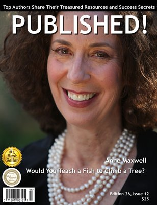PUBLISHED! Excerpt featuring Anne Maxwell