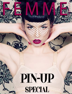 Femme Rebelle Magazine PIN-UP SPECIAL - April 2017 Le Mew Cover