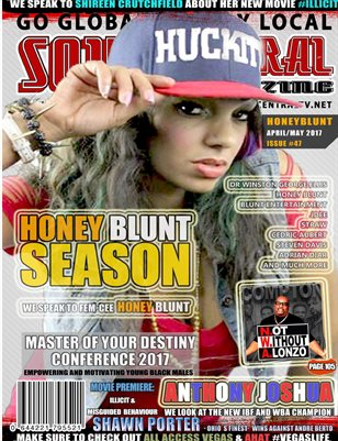 Soul Central Magazine April/May Edition #46 #Artist Hony Blunt