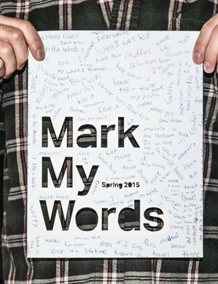 Mark My Words Spring 2015
