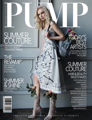 PUMP Magazine - The Bizarre Couture Must Have Edition