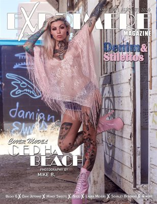 Exprimere Magazine Issue 004 Denim and Stilettos ft Cepha Beach
