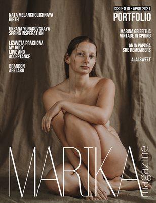 MARIKA MAGAZINE PORTFOLIO (ISSUE 818 - APRIL)