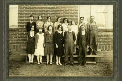1930 Lowes High School, Graves County, Kentucky
