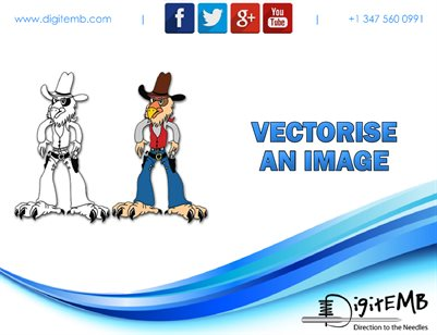 Vectorise an Image