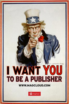 I Want You To Be A Publisher