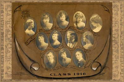 Class of 1916, Mayfield High School