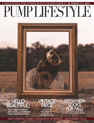 PUMP Magazine Elite Edition - Vol. 3 - September 2019.