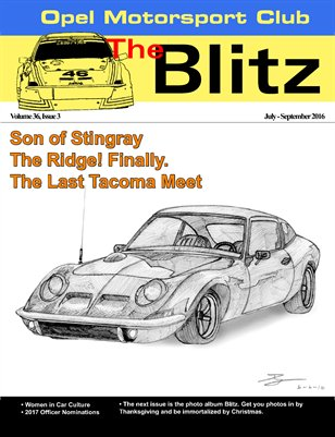 The Blitz, July-September 2016