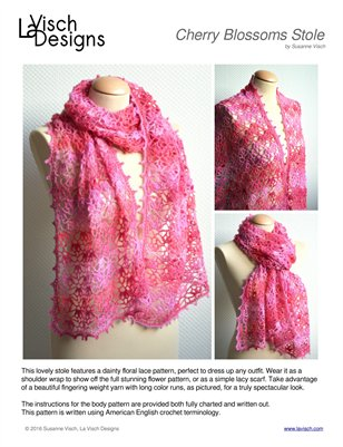 Cherry Blossoms Stole
